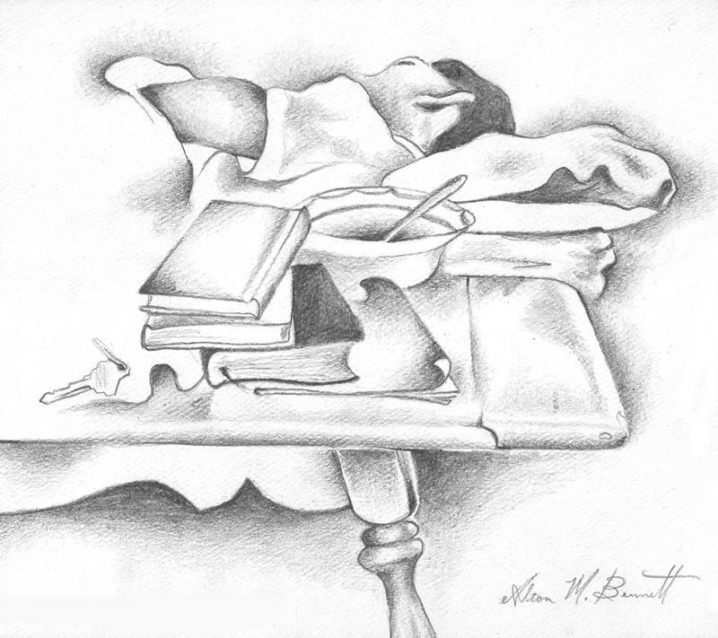 brother-sleeping-pencil-sketch