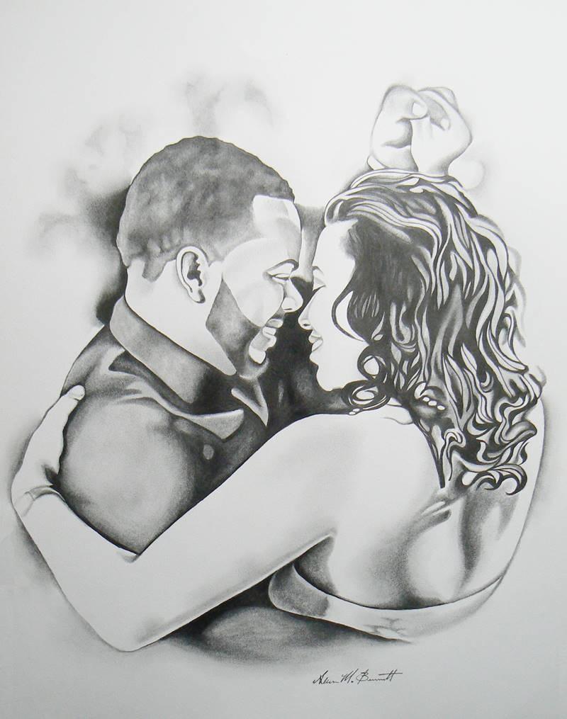 dancing-couple-custom-pencil-portrait-drawing
