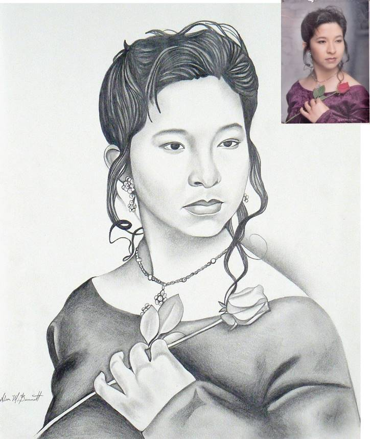 miriam-custom-pencil-drawing-with-photo