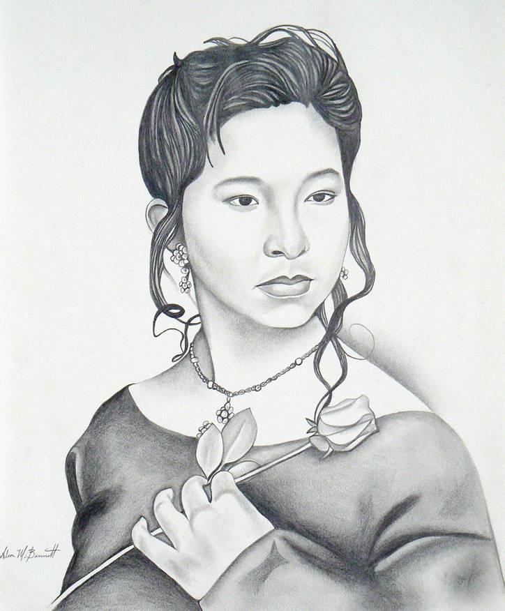 miriam-custom-pencil-drawing