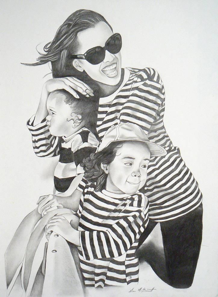 vanessa-kids-pencil-portrait-drawing